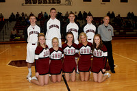 JGHS BOYS BASKETBALL vs Morgan, and SENIOR NIGHT 2014
