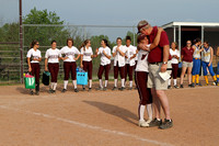 JG SOFTBALL Senior Night May 4, 2012