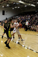 JGHS BOYS BASKETBALL vs Tri-Valley February 13, 2018
